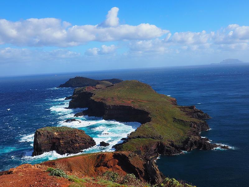 Wandern auf Madeira auf der Ponta de Sao Lourenco