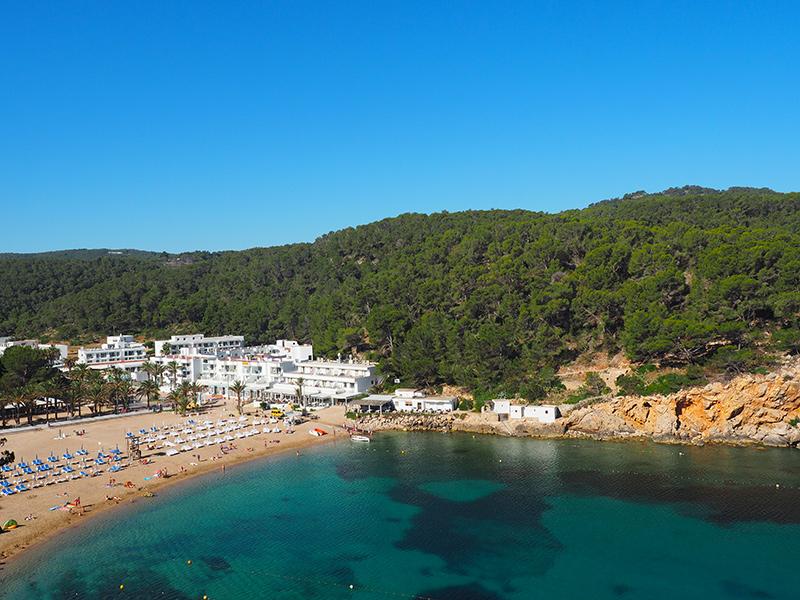 Ibiza/ Strand in Port de Sant Miquel