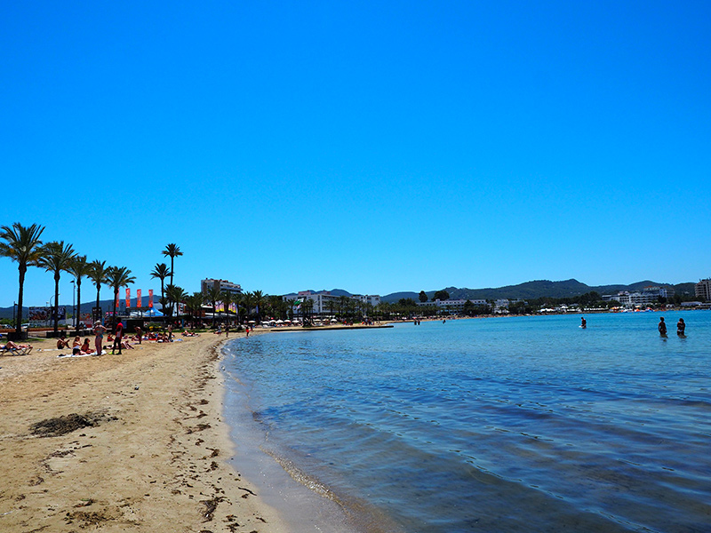 Ibiza/Sant Antoni de Portmany Strand-S'Arenal