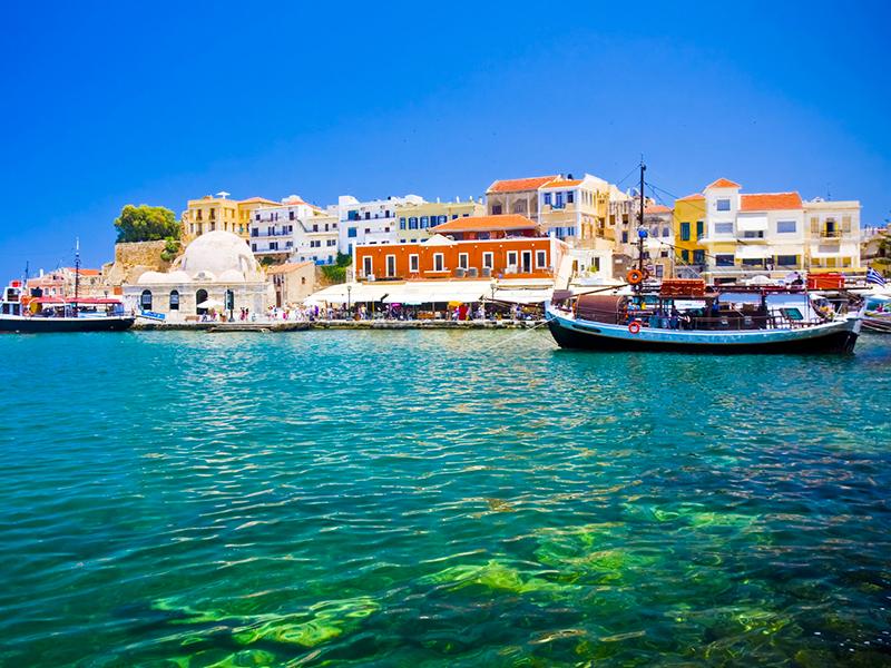 Kreta - Chania, Hafen