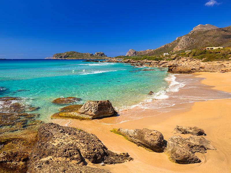 Kreta - Strand Falassarna Beach