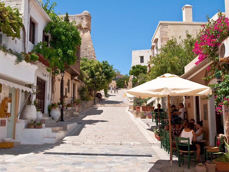 Kreta - Rethymnon, Altstadt
