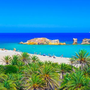 Kreta - Strand Vai Beach
