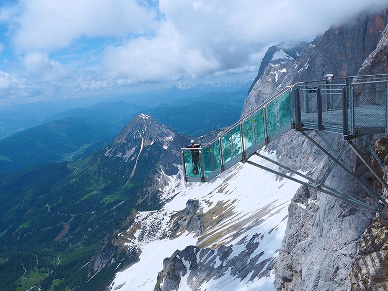 Dachstein Gletscher - Treppe ins Nichts