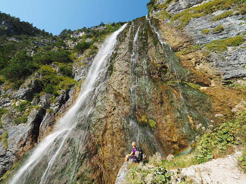 Achensee - Dalfazer Wasserfall