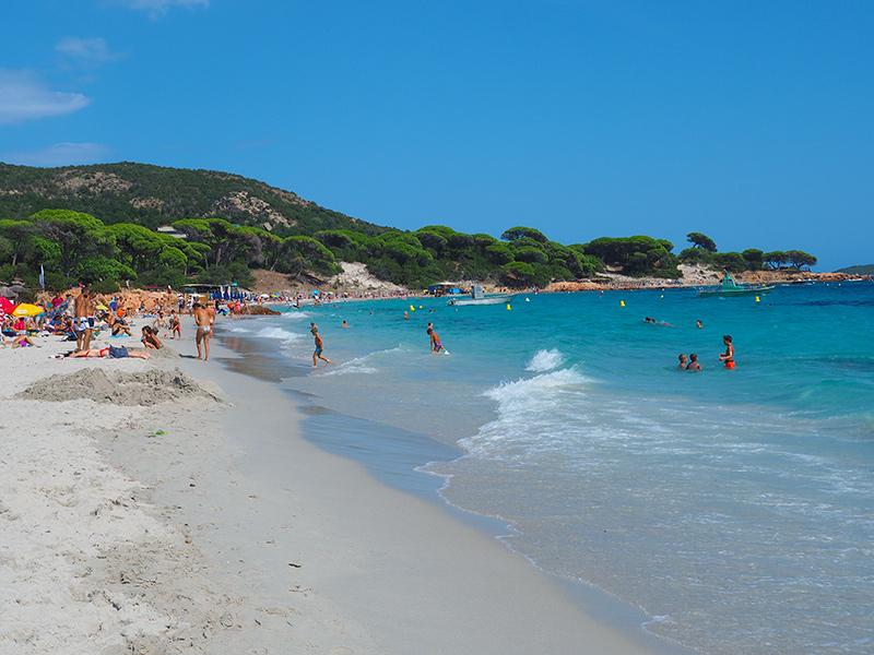 Korsika - Plage Palombaggia