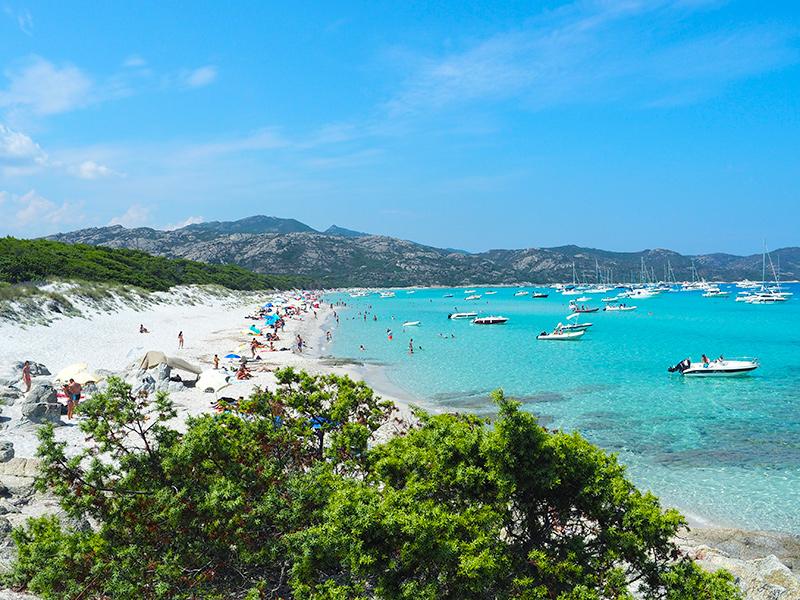 Korsika - Plage de Saleccia