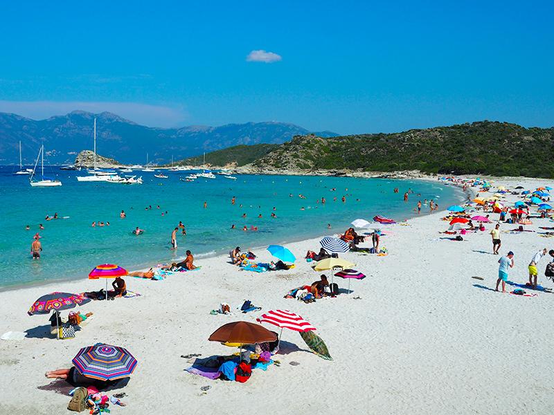 Korsika - Plage du Lotu