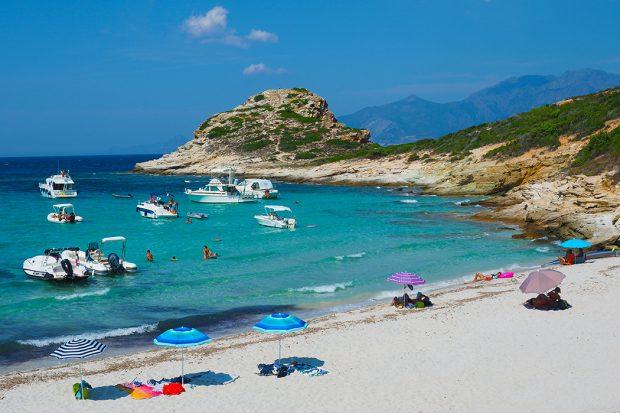 Korsika - Plage du Petit Lotu